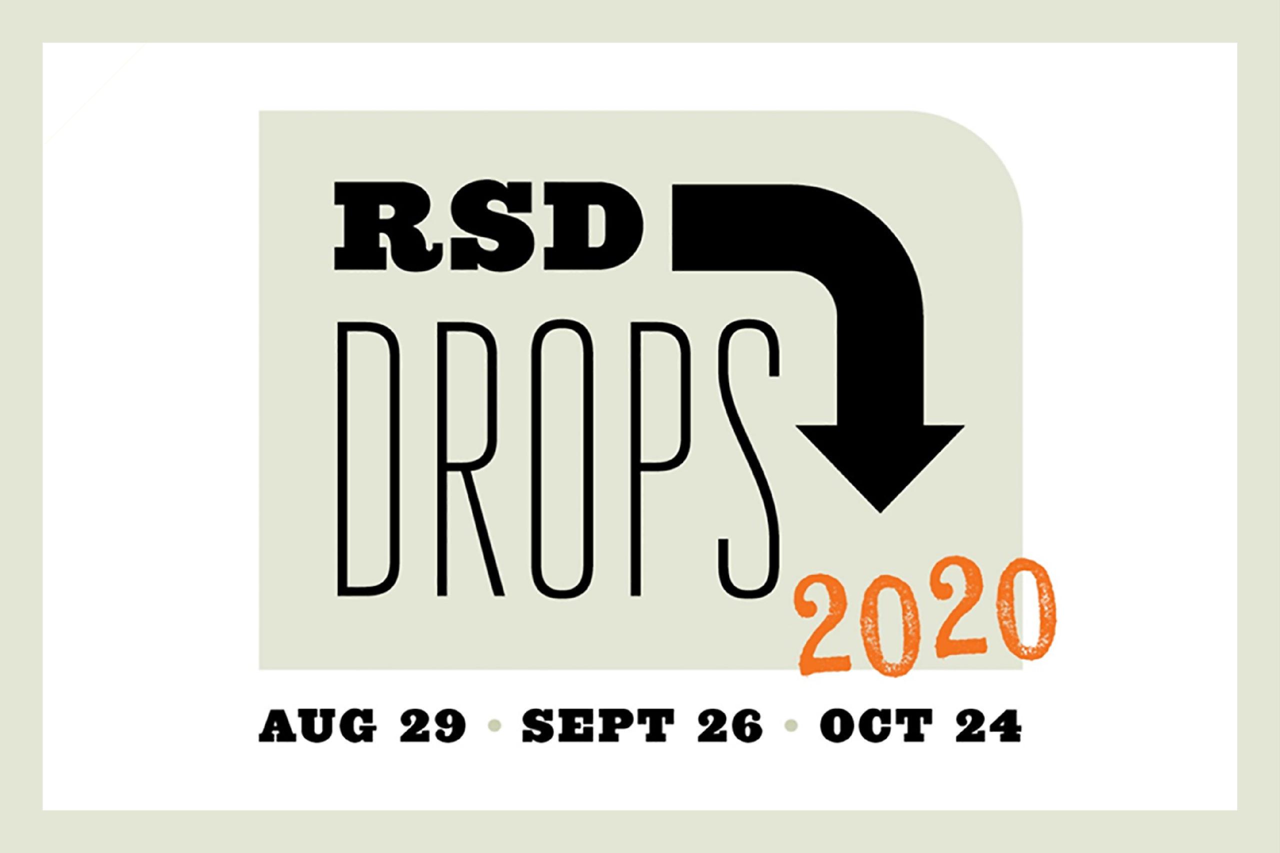 「【RSD Drops 2020】RECORD STORE DAYが8〜10月に分散開催。アナログレコードデビューにも!」のアイキャッチ画像