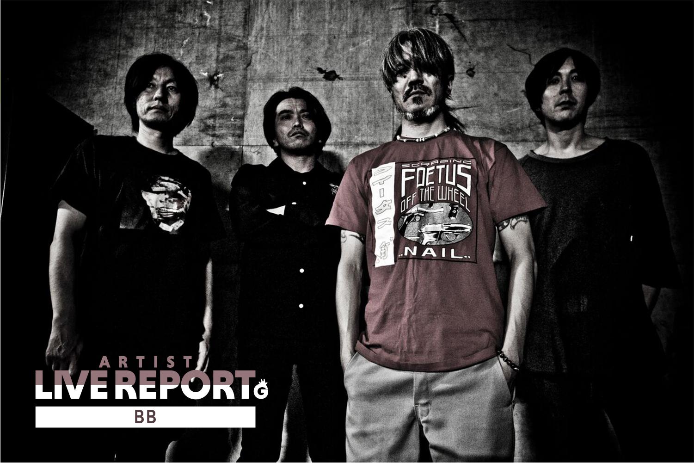 「コロナに立ち向かうライブハウス新代田Feverで開催された、BBの有観客ライブ」のアイキャッチ画像