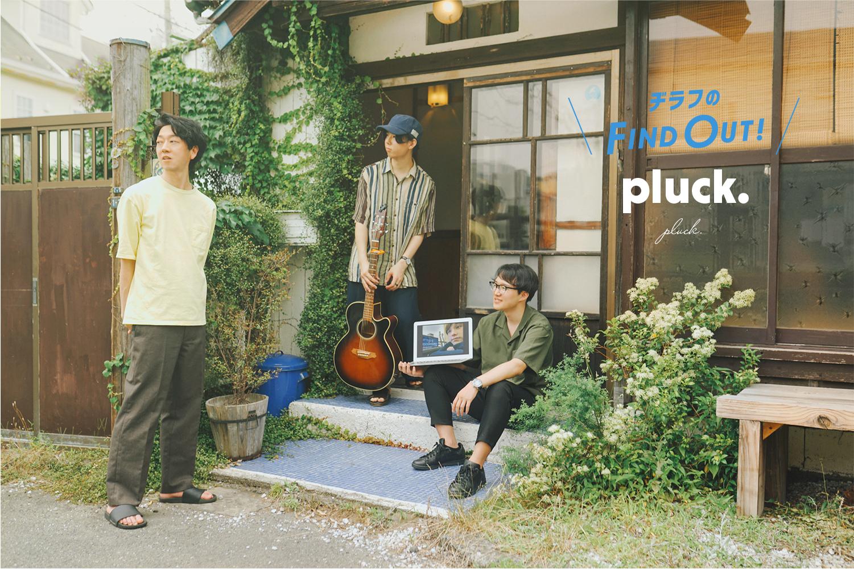 「【pluck.】いつまでも消えない、やわらかにきらめくものを抱えて」のアイキャッチ画像