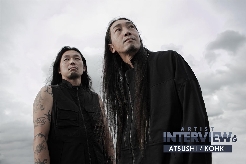 「【THE FOURCE インタビュー】ATSUSHI、KOHKI(BRAHMAN / OAU) ~異色であっていい。この4人が集まったときにどんな音が出るか」のアイキャッチ画像